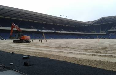 BT Murrayfield chooses Levenseat specialist sands