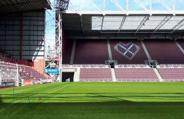 Aggregate Industries scores a home win for Heart of Midlothian Football Club with spectacular new hybrid pitch