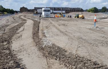 Aggregate Industries secures major flood defence contract for Medway riverside development