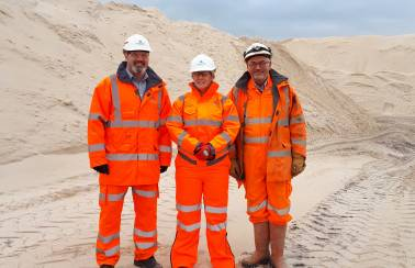 Local MP praises Aggregate Industries' Levenseat Quarry
