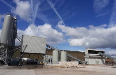 Aggregate Industries ups capacity with new Manchester concrete plant