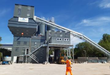 Aggregate Industries' Opens New Coleshill RMX plant in West Midlands Expansion