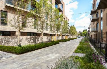 Charcon paves the way at Trafalgar Place in Elephant and Castle