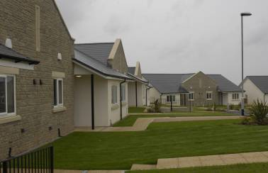 Aggregate Industries campers happy at retirement village