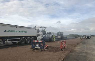Aggregate Industries secures surfacing contract for A14 project
