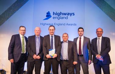 Aggregate Industries wins coveted Highways England safety award