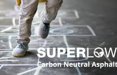 Aggregate Industries launches new improved SuperLow - the industry's first carbon neutral asphalt