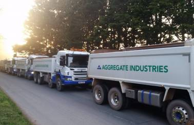 Aggregate Industries urges the construction industry to drive forward road safety
