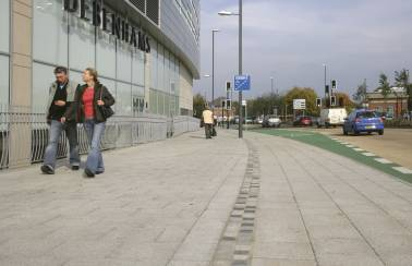 Derby shopping centre gets a makeover with Aggregate Industries