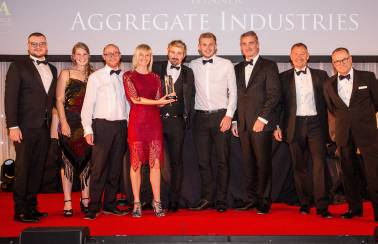 Aggregate Industries crowned 'Sales Team Of The Year' in national awards