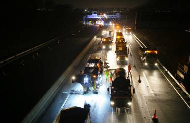 M1, Junction 25 to 28 Widening