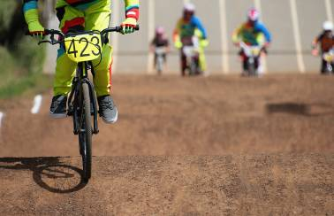Aggregate Industries helps local BMX club enter fast lane