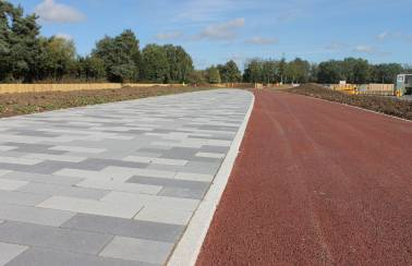 New innovative Cycle Kerb from Charcon