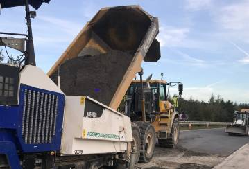The Extra Green Mile – Aggregate Industries Completes UK's First Carbon Neutral Pavement Scheme