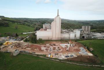Cauldon Cement Plant breaks ground on £13m project to reduce carbon dioxide emissions by up to 30,000 tonnes annually