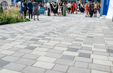 Charcon provides first class paving solution for Sheffield University