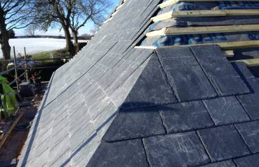Natural slate tiles launched by Bradstone roofing