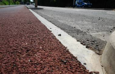 Charcon supplies Cambridgeshire County Council with bespoke 'Cambridge Kerb'
