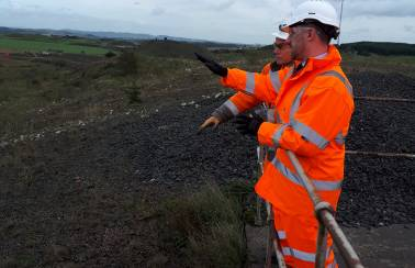 Local MP digs deeper into proposed community fund during Aggregate Industries' Duntilland Quarry visit