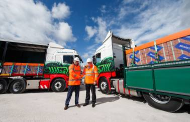 Eddie Stobart and Aggregate Industries five-year contract commences