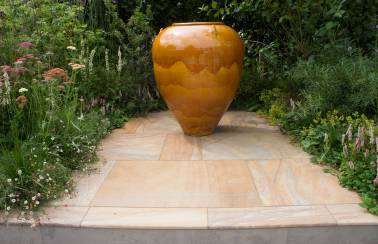 Bradstone featured at RHS Hampton Court Palace Flower Show