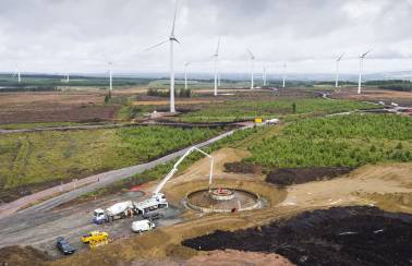 Aggregate Industries provides a swift solution for Harburnhead windfarm