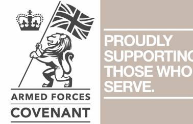 Aggregate Industries shows support for the Armed Forces community