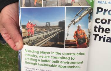 Concrete industry sustainable construction strategy