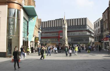 Leicester regeneration project