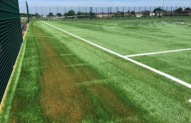 Aggregate Industries helps sport pitches stay high and dry with pioneering new infill sand
