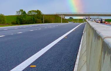 Aggregate Industries completes major works on A14 ahead of schedule