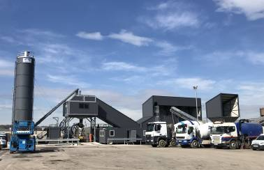 Aggregate Industries responds to demand with new Sheffield concrete plant