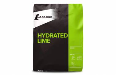 Lafarge Hydrated Lime bag