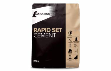 Lafarge Rapid Set Cement bag