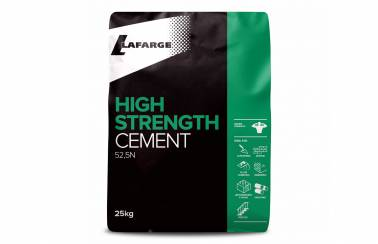Lafarge High Strength Cement bag