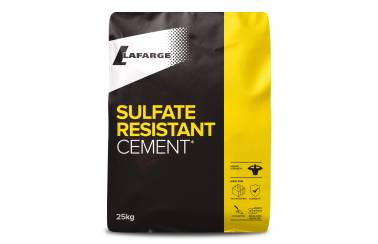 Lafarge Sulfate Resistant Cement bag