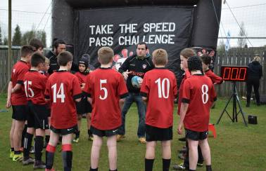 Aggregate Industries and Leicester Tigers launch schools programme