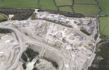 Quarrying partnership with Parliament