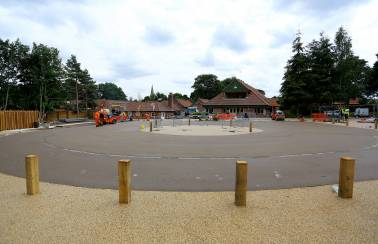 Aggregate Industries adds natural curb appeal to £5m Sherwood Forest visitor centre