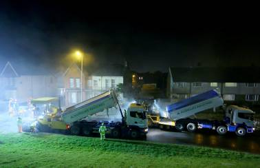 Aggregate Industries' SuperCurve resurfaces at Port of Liverpool