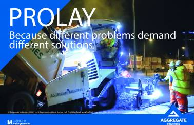 Aggregate Industries launches innovative ProLay System