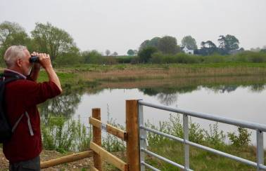 Aggregate Industries works with Yorkshire Wildlife Trust to turn quarry into wildlife haven