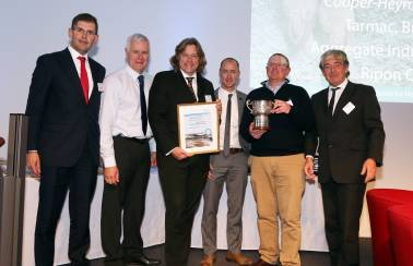 Aggregate Industries celebrates success at MPA Restoration and Biodiversity Awards