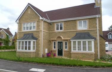 Longmead Close property development, Somerset