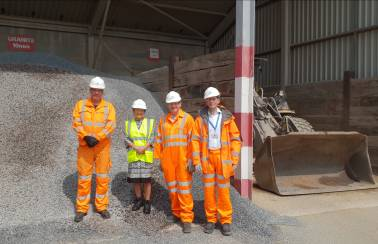 MP samples new lab at Aggregate Industries' Doncaster Asphalt Plant