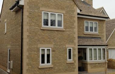 Housing development, Sherston, Wiltshire