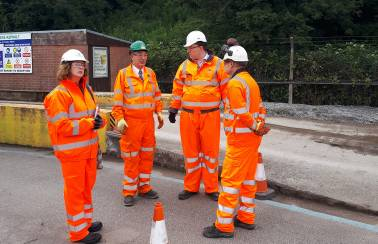 Local MP praises Aggregate Industries' Stoke site