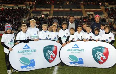 Leicester Tigers and Aggregate Industries