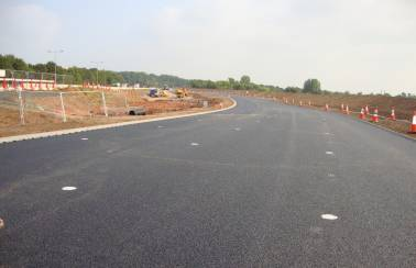 A45-A46 Tollbar End improvement scheme