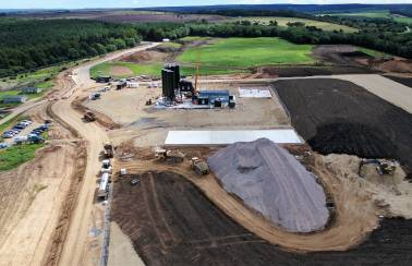Aggregate Industries digs deep to provide 100k tonne spec for ground-breaking Yorkshire mine development